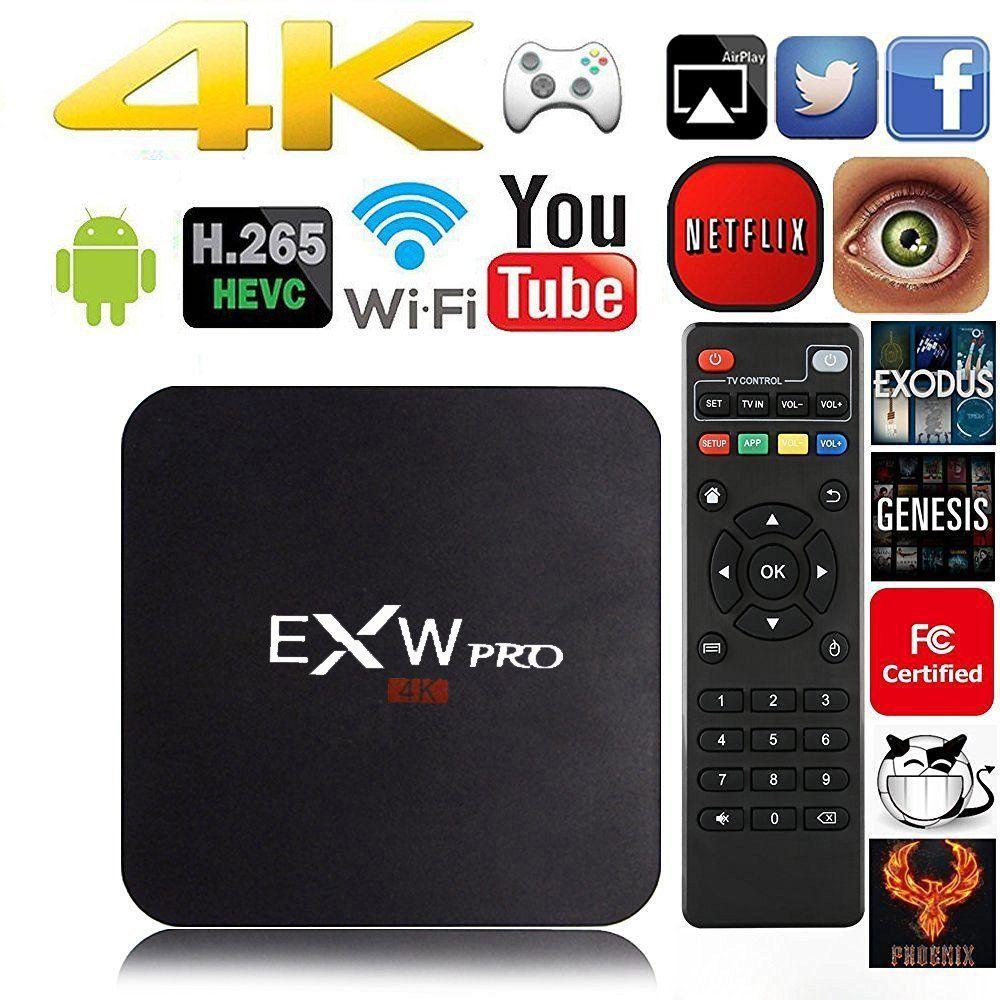 Amlogic Exw Exw Pro Quad Core Smart Tv Box With Xbmc Pre Installed
