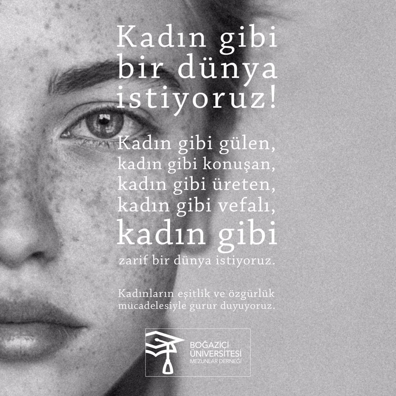 Kadın Gibi Zarif Bir Dünya Istiyoruz 8 Mart Kadınlar Günü Türkçe
