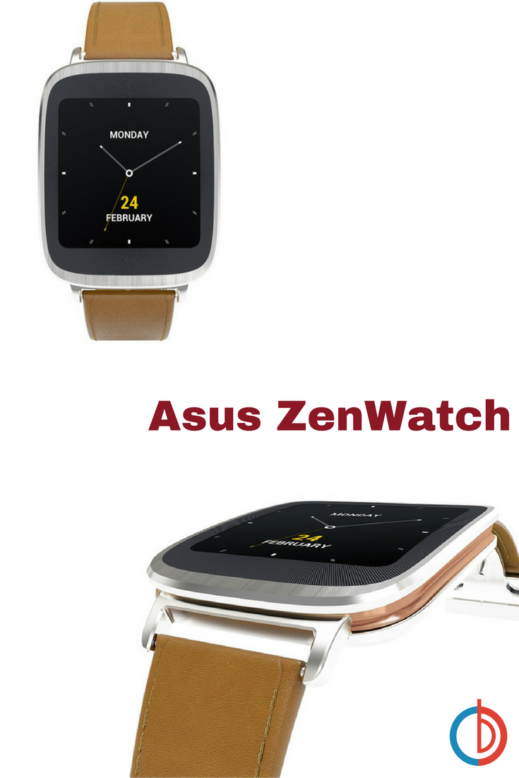 ZenWatch Android Wear Waterproof Smartwatch Leather Brown  Shops