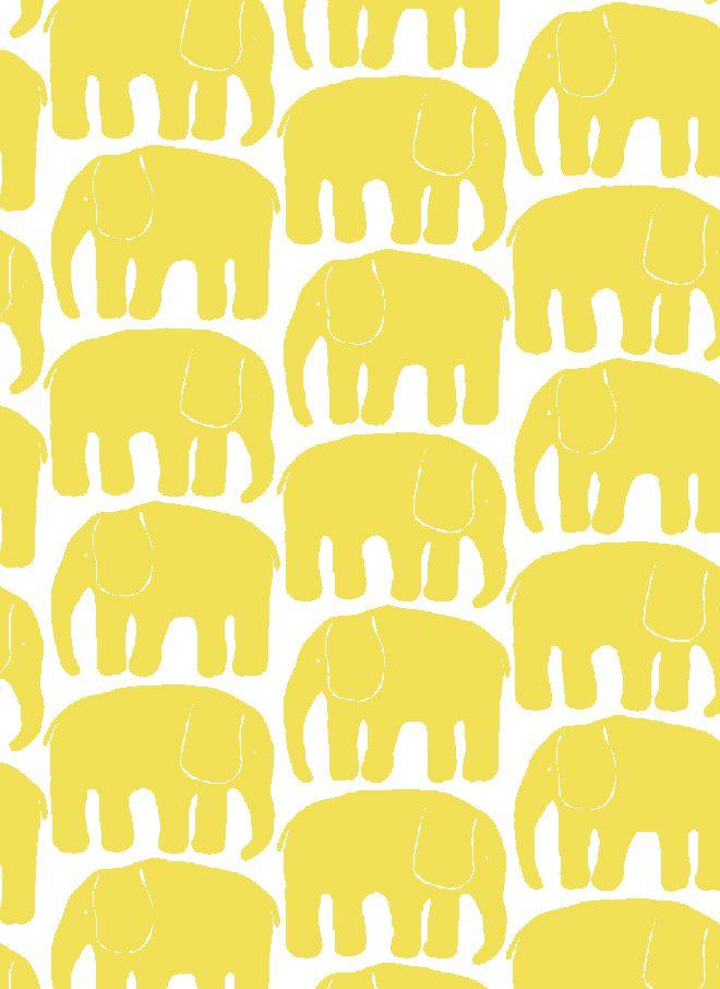 Elefantti-puuvillakangas - Finlayson verkkokaupasta