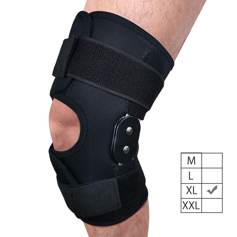 Funcee Hinged Knee Brace 4 Available Sizes Adjustable Compression