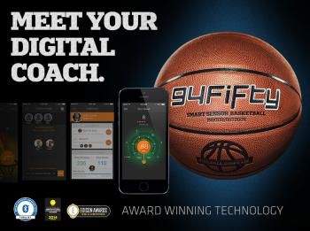 94Fifty Smart Sensor Basketball for iPhone and Android - The Smart Way To Improve Your Game