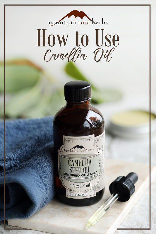 Organic Camellia Seed Oil for Skin & Hair Care #organichaircare