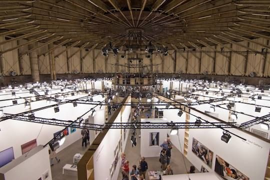 'Unseen Photo Fair', Amsterdam, Westergasfabriek september 2014