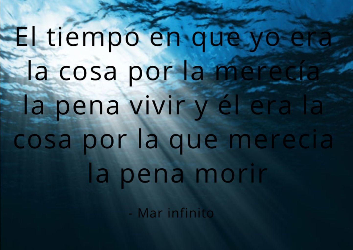 el mar infinito
