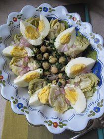 La cuisine d'ici et d'ISCA: Salade de pois chiches
