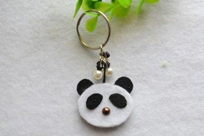 Panda Key Chain - Fun Family Crafts