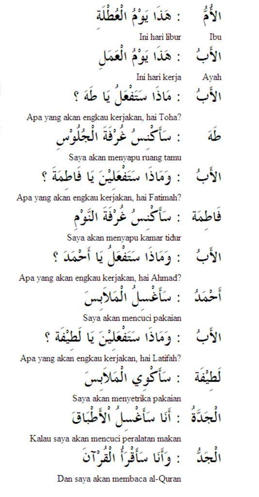 Pelajaran Bahasa Arab Percakapan Libur ال ع ط ل ة Untuk Orang Indonesia Bahasa Arab Bahasa Belajar