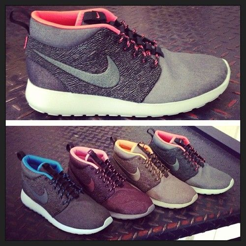 New Nike Roshe Run Mids Quickstrike for this Friday.. City Pack ... 6afdc5d941aee
