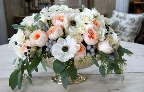 I Just Love Garden Roses and Anemonies