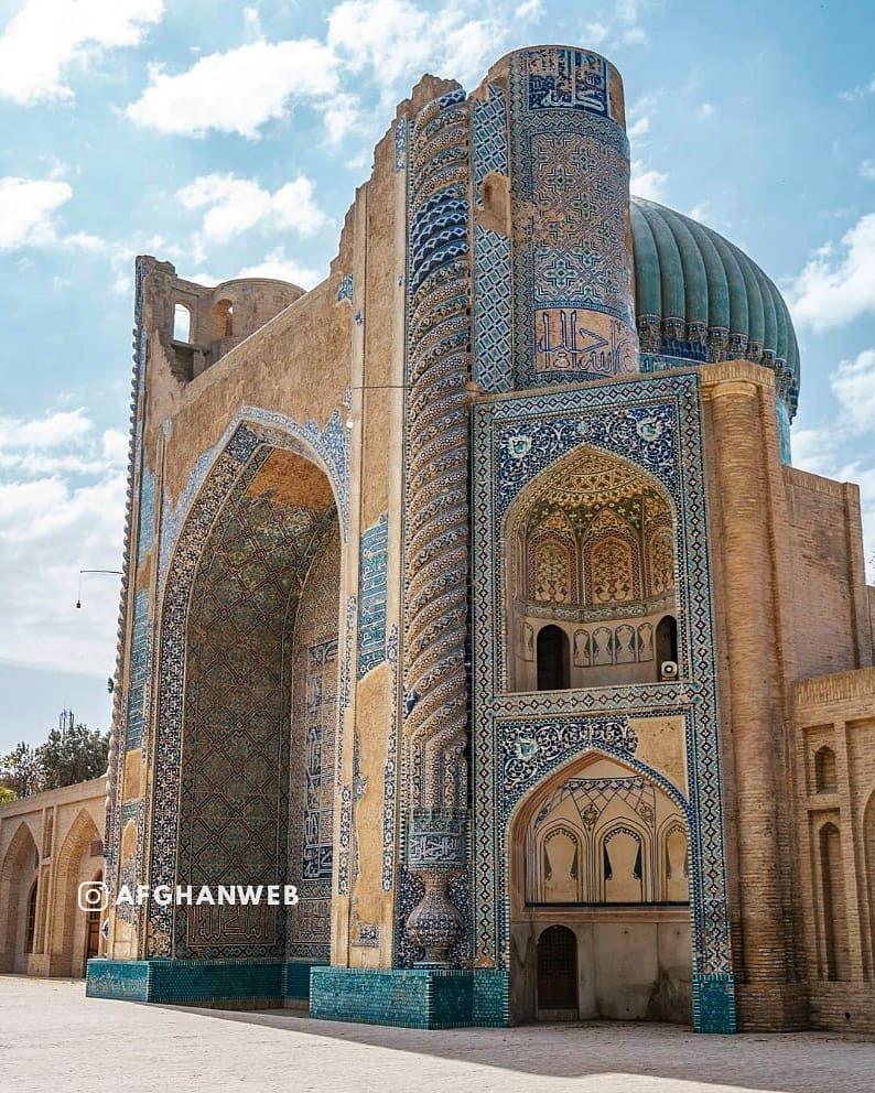 Gefallt 1 312 Mal 6 Kommentare Afghanweb Afghanweb Auf Instagram The Green Mosque Masjid Sabz Is A Mosque In The City In 2020 Afghanistan Balkh Hometown