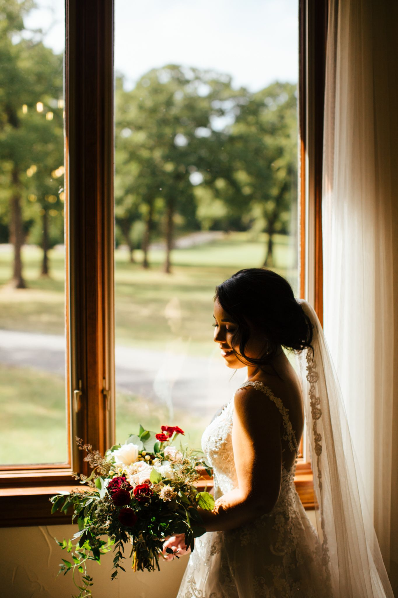 July wedding at The Grove in Aubrey, Texas! Photos by