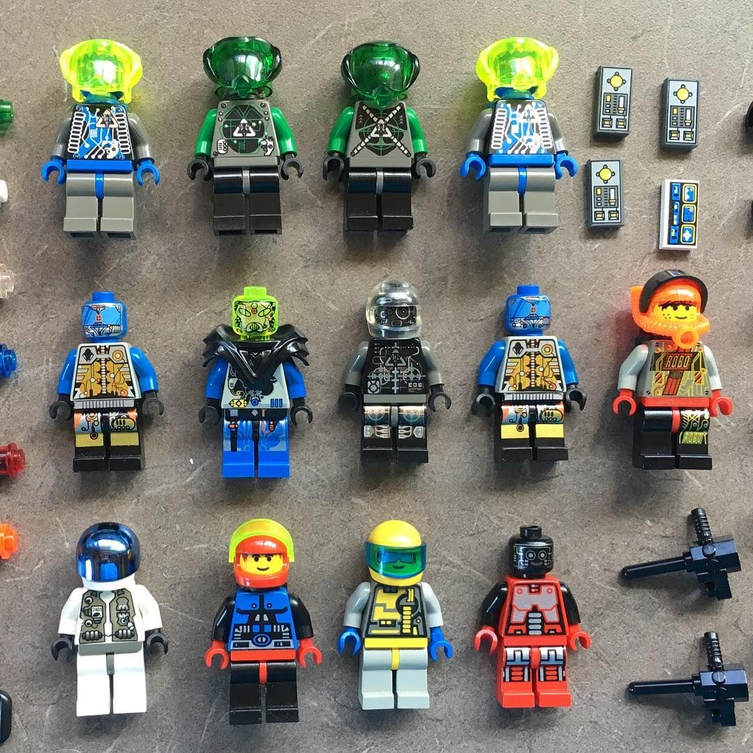 Aliens LEGO Minifigures Lot of 10 Ninjago Space