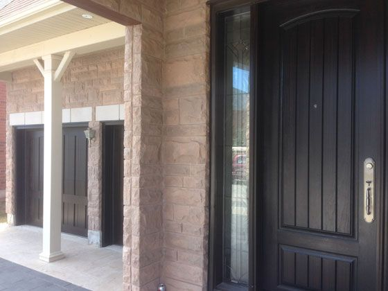 Matching Garage And Entry Doors Mississauga Ideas For The House