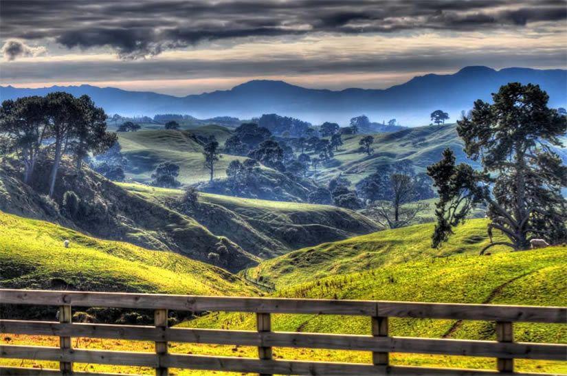 Matamata Valley New Zealand Pretty Landscapes Beautiful Landscape Pictures Landscape Pictures