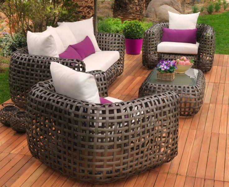 Hoy os traemos muebles de jadin de ltima tendencia en - Conjunto jardin aki ...