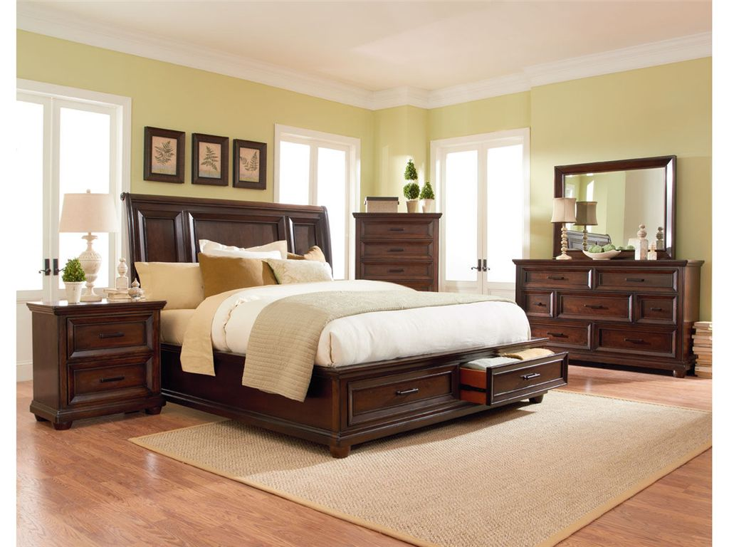 Standard Furniture Bedroom Platform Headboard 5 0 87701