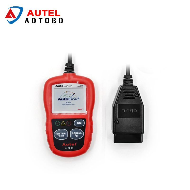 Autel Autolink AL319 OBD2 Scanner Reader Read and Erase Codes Check