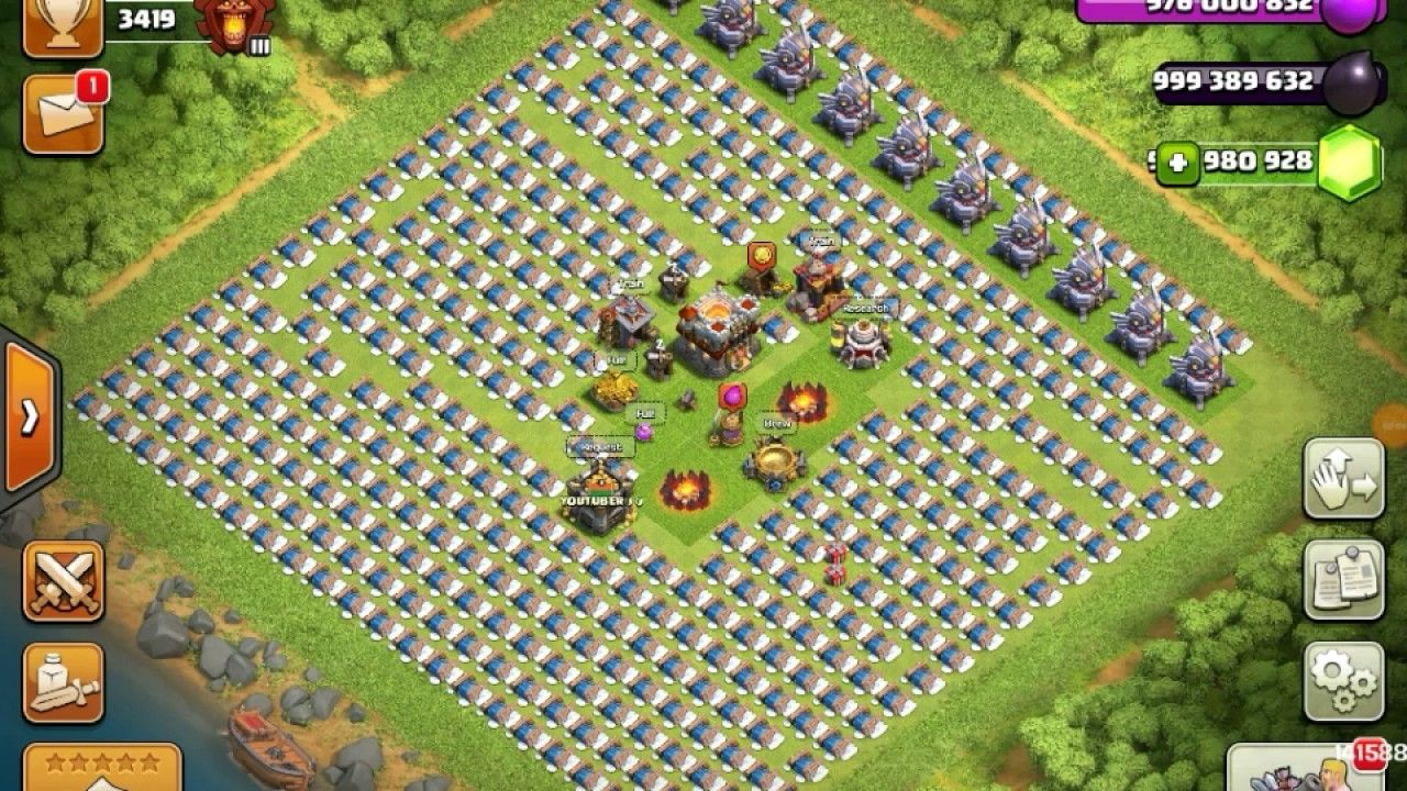 fhx clash of clans hack apk free download