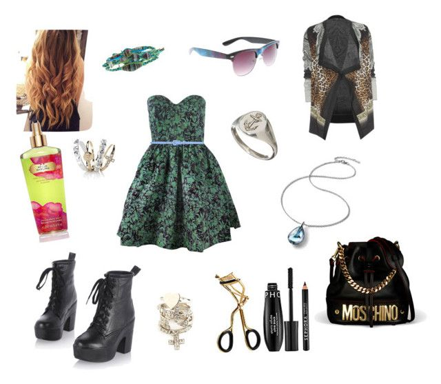 """""""Chic in green/dark turquoise"""" by justlittlemaddie ❤ liked on Polyvore featuring Rachel Antonoff, Chan Luu, Etro, Hot Topic, Baccarat, Laura Lee, Charlotte Russe, Forever New, Sephora Collection and Accessorize"""