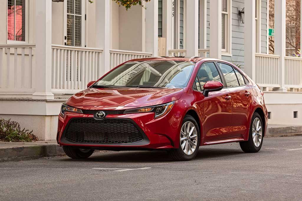 2020 Toyota Corolla Review Toyota corolla le, Toyota