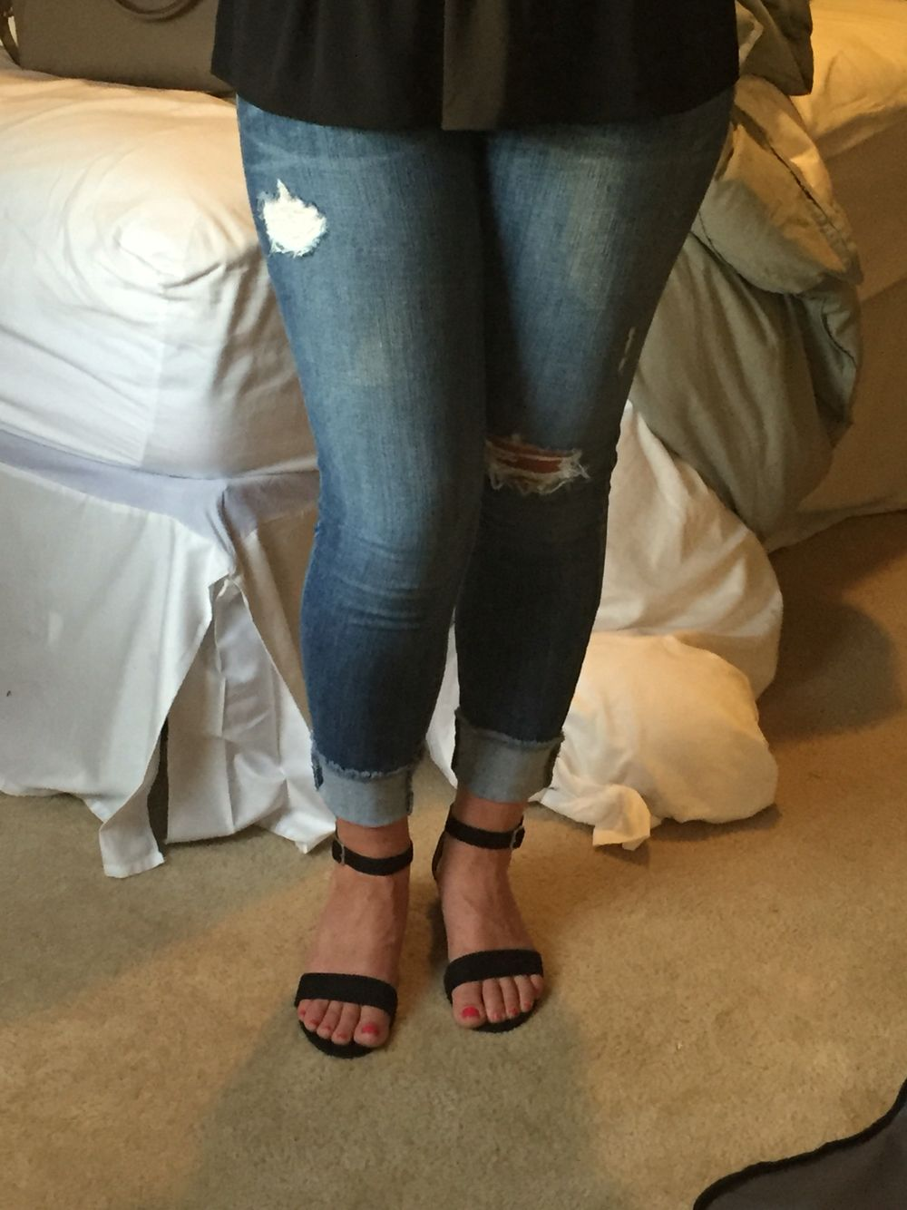 7205e6bd45 SF Review: obsessed with these pistola jeans! Dressed up tonight ...