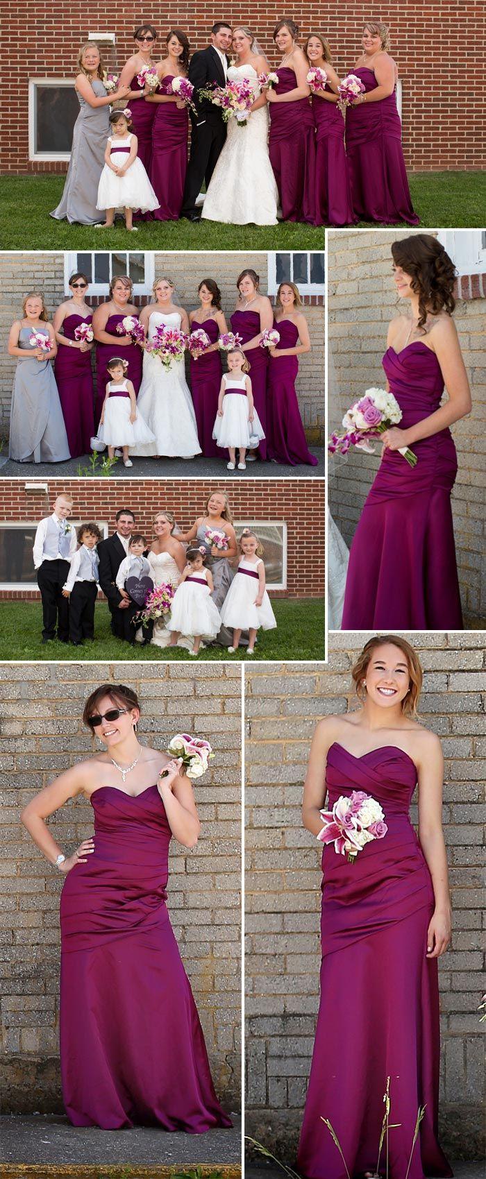 Die schönsten Brautjungfernkleider in Lila ...