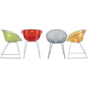Chaise Gliss Pedrali Transparent Mobilier De Salon Design Chaise Originale