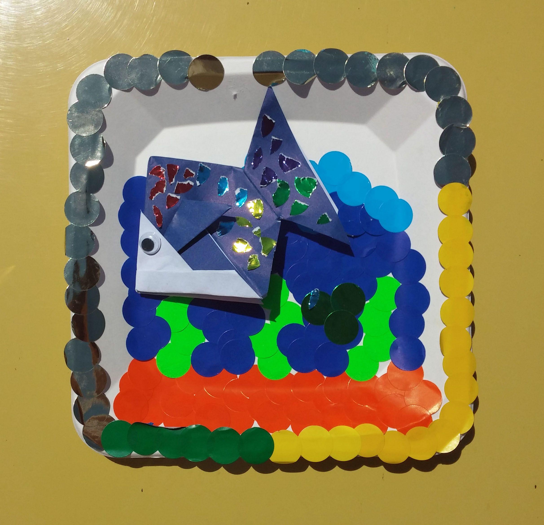 рыбка (оригами) в аквариуме (с изображениями) | Детское ...