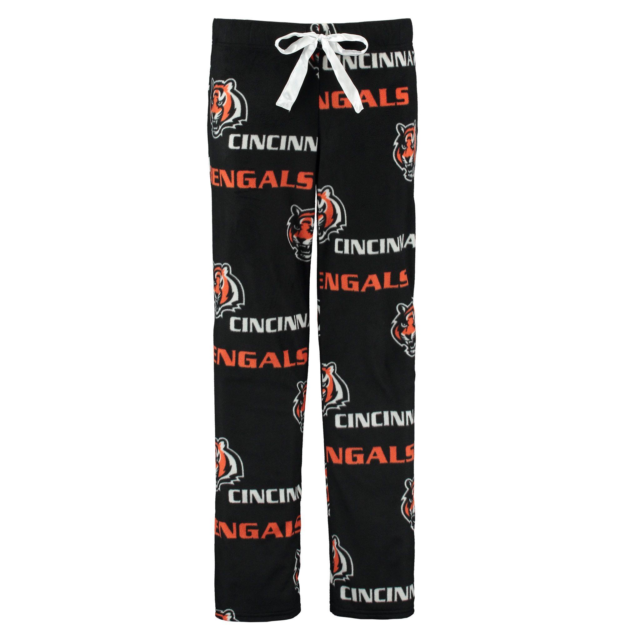 NFL Cincinnati Bengals Concepts Sport Women s Facade Allover Print Pajama  Pants - Black 9c21c536bb
