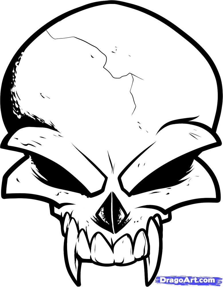 Free Cool Drawing Designs Download Free Clip Art Free Clip Art On Clipart Library Skulls Drawing Skull Tattoo Design Skull Art Drawing