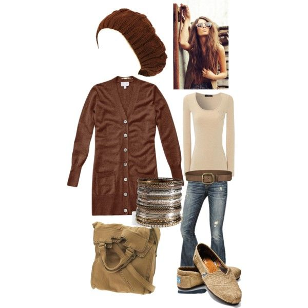 """""""Burlap browns"""" by emalbe on Polyvore"""