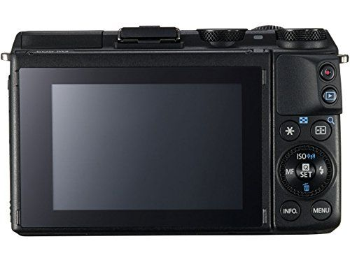 EOS M3 Body+EVF/Black International Version (No Warranty)  http://www.lookatcamera.com/eos-m3-bodyevfblack-international-version-no-warranty/