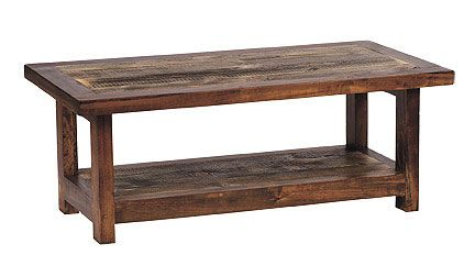 Rustic Wood Coffee Tables D