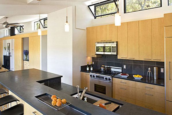 modular homes interior. Modular House With Windows Above Kitchen Cabinets 8 Modular Home Designs With Modern Flair  Building Ideas