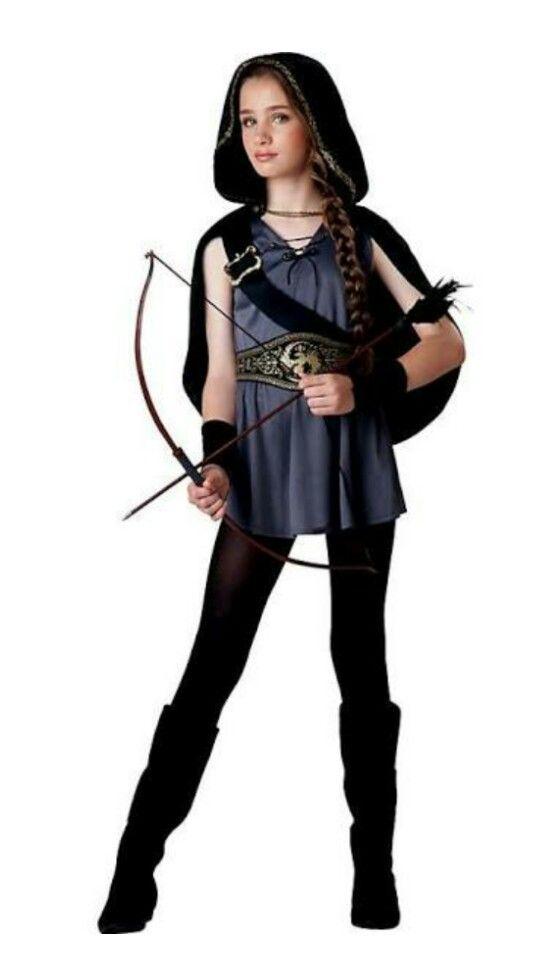 Hooded Huntress Tween Girlu0027s Costume  sc 1 st  Pinterest & Hooded Huntress Tween Girlu0027s Costume | Halloween costumes Costumes ...