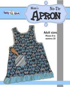 Mom's No-Tie Apron