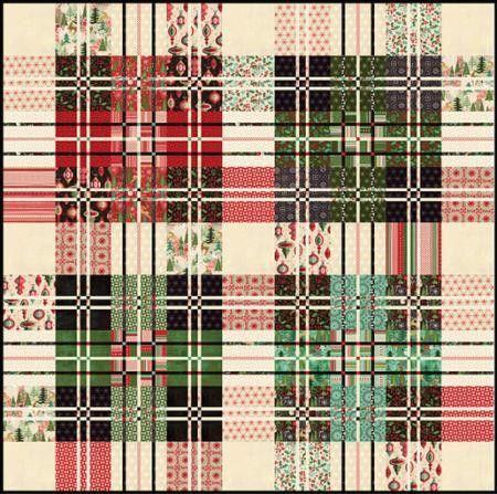 Jolly Tartan Quilt Pattern by Basic Grey | Sewing | Pinterest ... : tartan quilt - Adamdwight.com