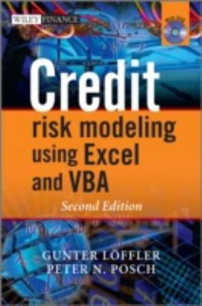16+ Credit Risk Modeling using Excel and VBA 2nd Edition   PDF ebook