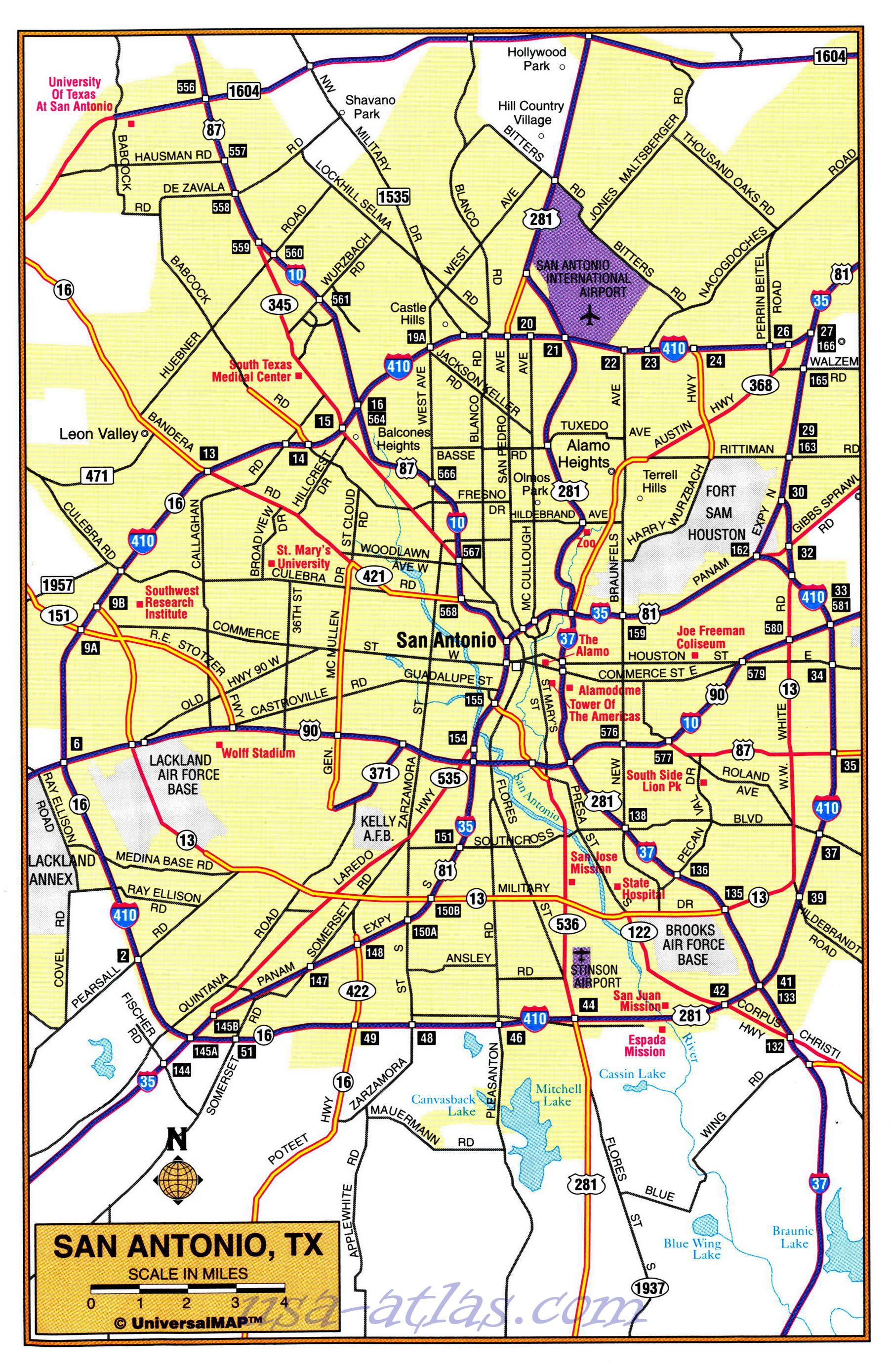 map of the suburbs of san antonio detailed map of the suburbs of rh pinterest com