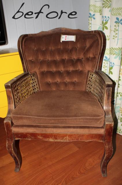 Remodelaholic » Blog Archive DIY Chair Makeover Under $50 » Remodelaholic