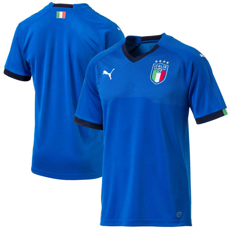 quality design 99440 075d2 Italy National Team Puma 2018 World Cup Home Jersey - Blue ...