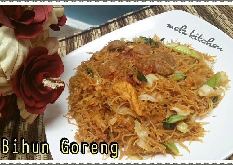 Resep Bihun Goreng Oleh Melz Kitchen Resep Makan Malam Resep Masakan Makanan