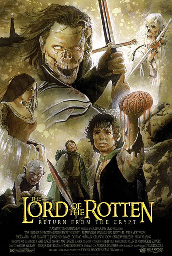 Image result for lord of the rings zombiefied