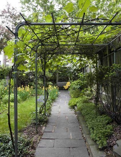 Modern Garten By Delson Or Sherman Architects Pc; Sehr Schöne Umsetzung Für  Unseren Gartengang: