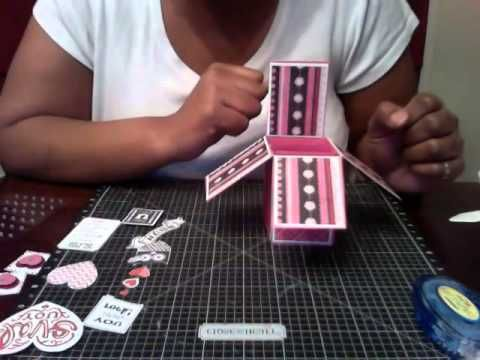 ▷ Card in a Box Tutorial - YouTube   tutorials   Box cards