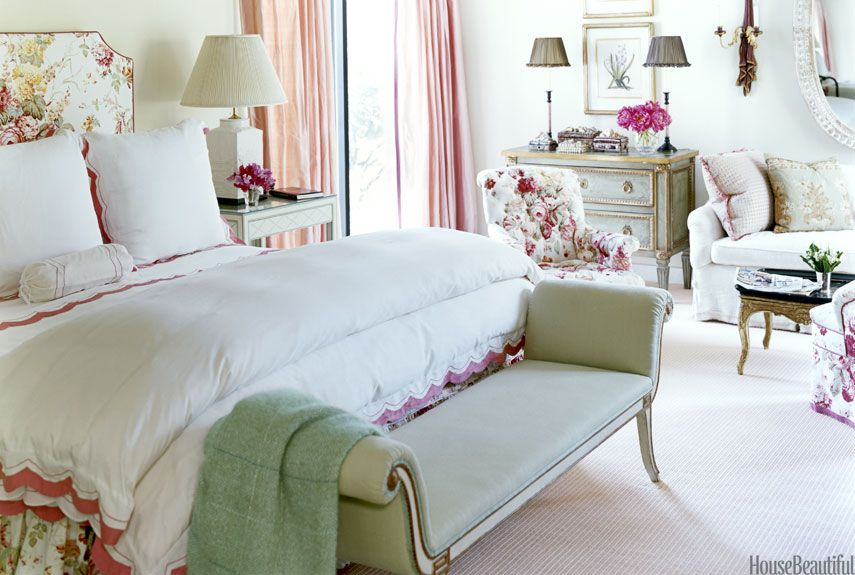 Beautiful Designer Bedrooms 40 Traditional Designer Rooms  Green Dresser Sitting Area And