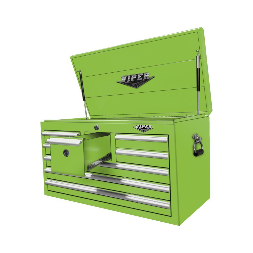 33 8 Drawer Utility Chest With Whiskey Drawer Extruded Aluminum