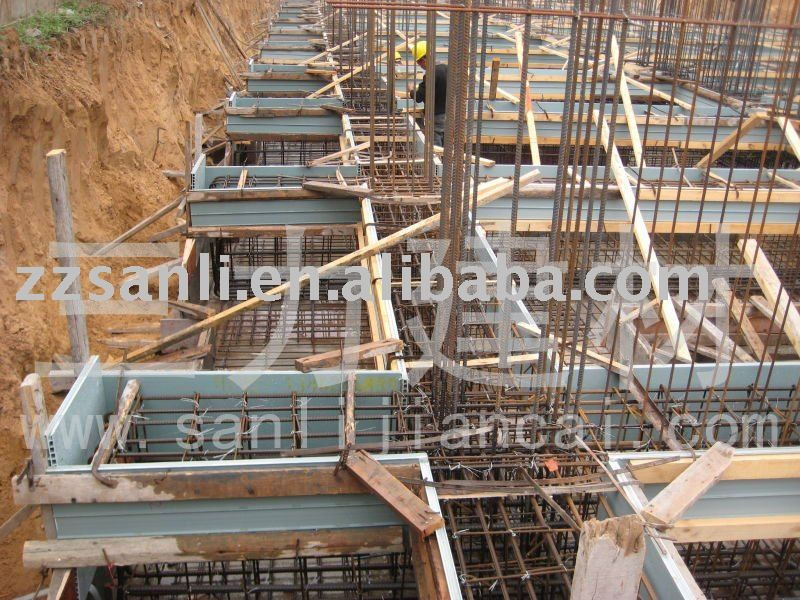 Plastic steel formwork for concrete slab, column, View steel