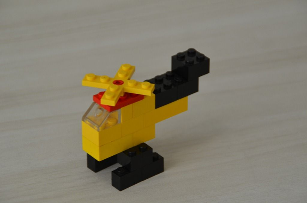 Simple Lego Build Of Boat